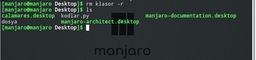 linux remove folder