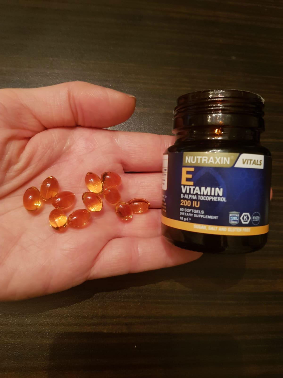 Nutraxin E Vitamin D-Alpha 200 IU