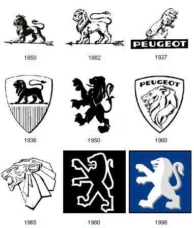 peugeot logoları