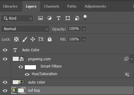 photoshop rename layer