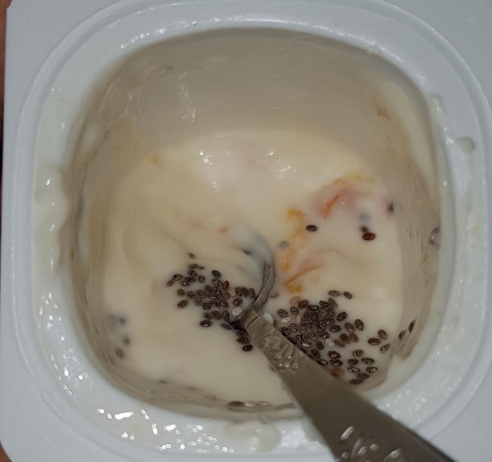 probiyotik yoğurt chia tohumu