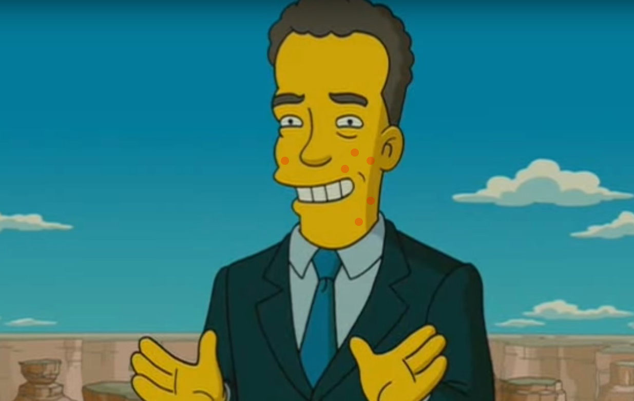 simpsons tom hanks