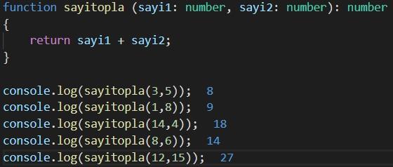 typescript sum