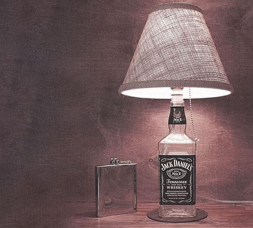 viski şişesi lamba